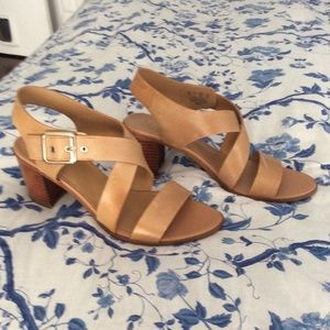 Franco Sarto leather sandals, new! Size 9